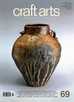Cover: JANET MANSFEILD (Australia), 'Jar', 2006, anagama-fired stoneware, impressed decoration, ht 44cm. Refer to pages 40-43. Photo: Greg Piper