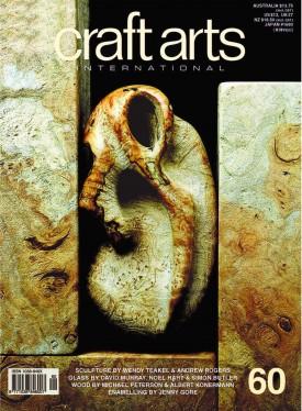 Cover: Michael Peterson (USA), 'Fossil', 1994, maple burl, diameter 10 x 17.8 cm Photo: Roger Schreiber.